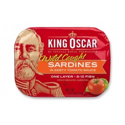 KING OSCAR SARDINES IN TOMATO SAUCE 105GM