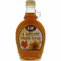 PURE CANADIAN MAPLE SYRUP 250ML