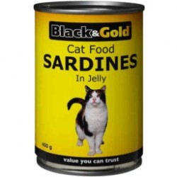 SARDINES IN JELLY CAT FOOD 400G