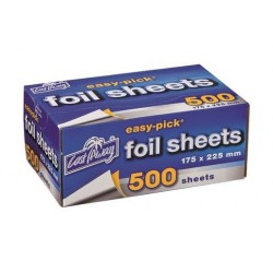SMALL FOIL SHEETS 175X225MM 500S