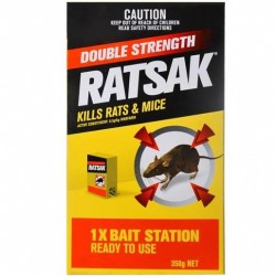 DOUBLE STRENGTH RODENT KILLER 350GM
