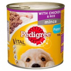 PUPPY FOOD CHICKEN AND RICE 700GM