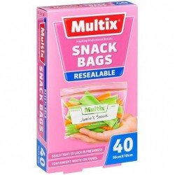 QUICK ZIP SNACK BAGS 40S