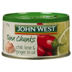 CHUNKY CHILLI LEMON AND GINGER TUNA 95GM