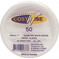UNCOATED PAPER PLATES 180M 50S