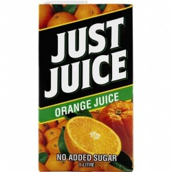 JUST JUICE ORANGE JUICE 1L