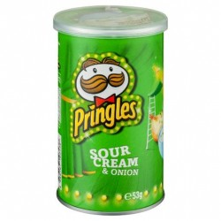 SOUR CREAM AND ONION POTATO CHIPS 53GM