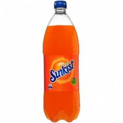 SUNKIST ORANGE SOFT DRINK 1.25L