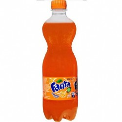 ORANGE SOFT DRINK 600ML