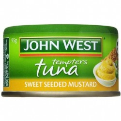 TUNA TEMPTERS SWEET SEEDED MUSTARD 95GM