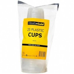CUPS PLASTIC 450ML 25PK