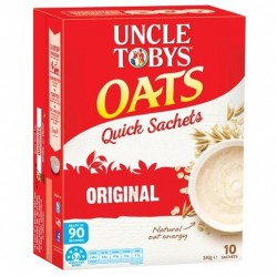 QUICK OATS SATCHELS BREAKFAST...