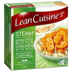 INDIAN STYLE BUTTER CHICKEN STEAM MEAL 370GM