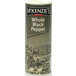 MCKENZIES WHOLE BLACK PEPPER 50GM