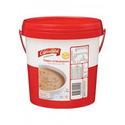 CONTINENTAL CREAM OF MUSHROOM SOUP 1.7KG