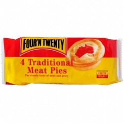 TRADITIONAL MEAT PIES 4 PACK 700GM