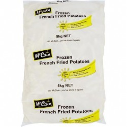 FAST FRY STRAIGHT CUT FRIES 10MM 5KG
