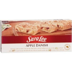 SARA LEE APPLE DANISH 400GM