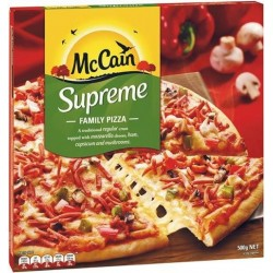 SUPREME PIZZA 500GM