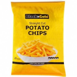 STRAIGHT CUT CHIPS FROZEN 1KG