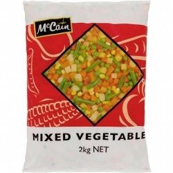 MIXED VEGETABLES 2KG