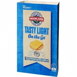 LIGHT CHEESE ON THE GO 50GM