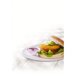 CRUMBED CHICKEN BURGER 95GMx10