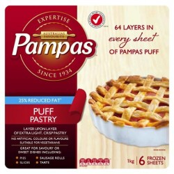 REDUCED FAT PUFF PASTRY 1KG