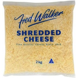 CHEESE TASY SHREDDED 2KG