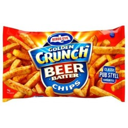 GOLDEN CRUNCH BEER BATTER CHIPS 750GM