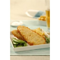 BEER BATTERED NATURAL SHARK FILLET 1KG