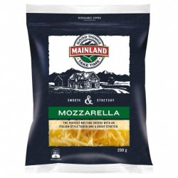 GRATED MOZZARELLA CHEESE 200GM