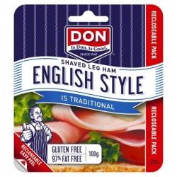 HAM LEG ENGLISH SHAVED 100GM
