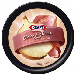 DIP ONION AND BACON 185GM