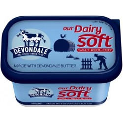 DAIRY SOFT SALT REDUCED TUB 500G