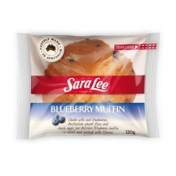 BLUEBERRY MUFFIN INDIVIDUALLY WRAPPED 120GM