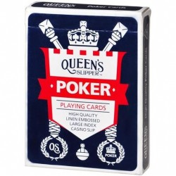 LARGE INDEX HIGH SLIP POKER PLAYING CARDS 1PK