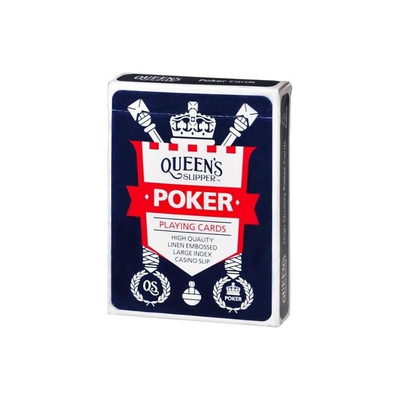 LARGE INDEX HIGH SLIP POKER PLAYING CARDS 1PK