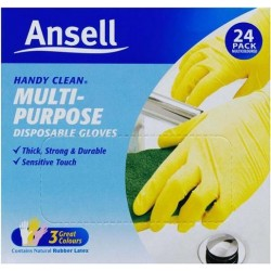 DISPOSABLE HANDY CLEAN GLOVE 24 PACK 24PK