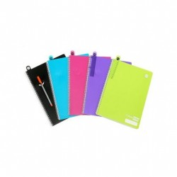 COLOURHIDE A4 NOTEBOOK 120PG