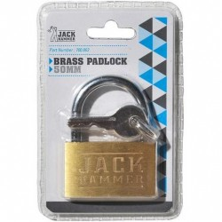 BRASS PADLOCK 50MM