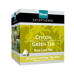 TEABAGS GREEN 20'S