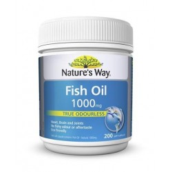 NAT/WAY FISH OIL 1000MG No.200S
