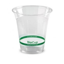 BIOCUP CLEAR PLASTIC CUP 360ML 50S