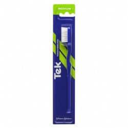 TEK TOOTH BRUSH MEDIUM NEW SINGLE