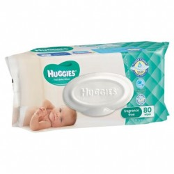 HUGGIES B/WIPE U/S RF 80S