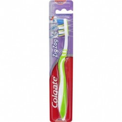 COLG TOOTH BRUSH ZIGZAG ADULT SOFT SINGLE