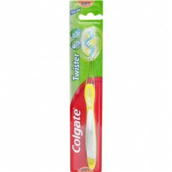 COLGATE TOOTHBRUSH TWISTER ADULT SOFT SINGLE