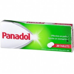 PANADOL TABLETS 20S