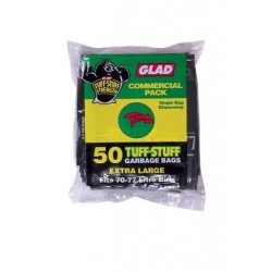 HEAVY DUTY GARBAGE BAG BLACK 50S